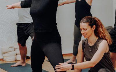Yoga Anfängerkurs in Graz mit Stefanie