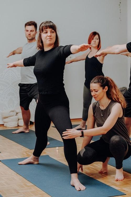 Yoga Angebot Anfängerkurs